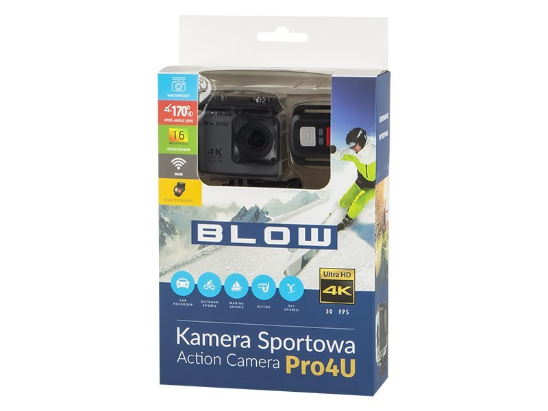 Kamera sportowa ACTION CAMERA Go Pro4U 4K BLOW