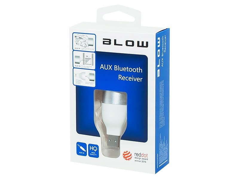 BLOW Adapter Transmiter Bluetooth USB-AUX IN